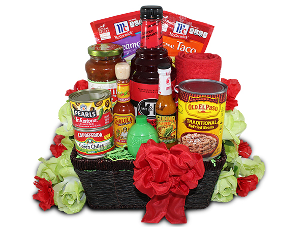 Taco Dinner Gift Basket Taco Gift Basket Mexican Gift